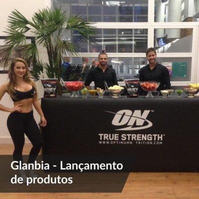 Case de Sucesso - Glanbia - Lançamento de produtos - Agência DosReis Live Marketing