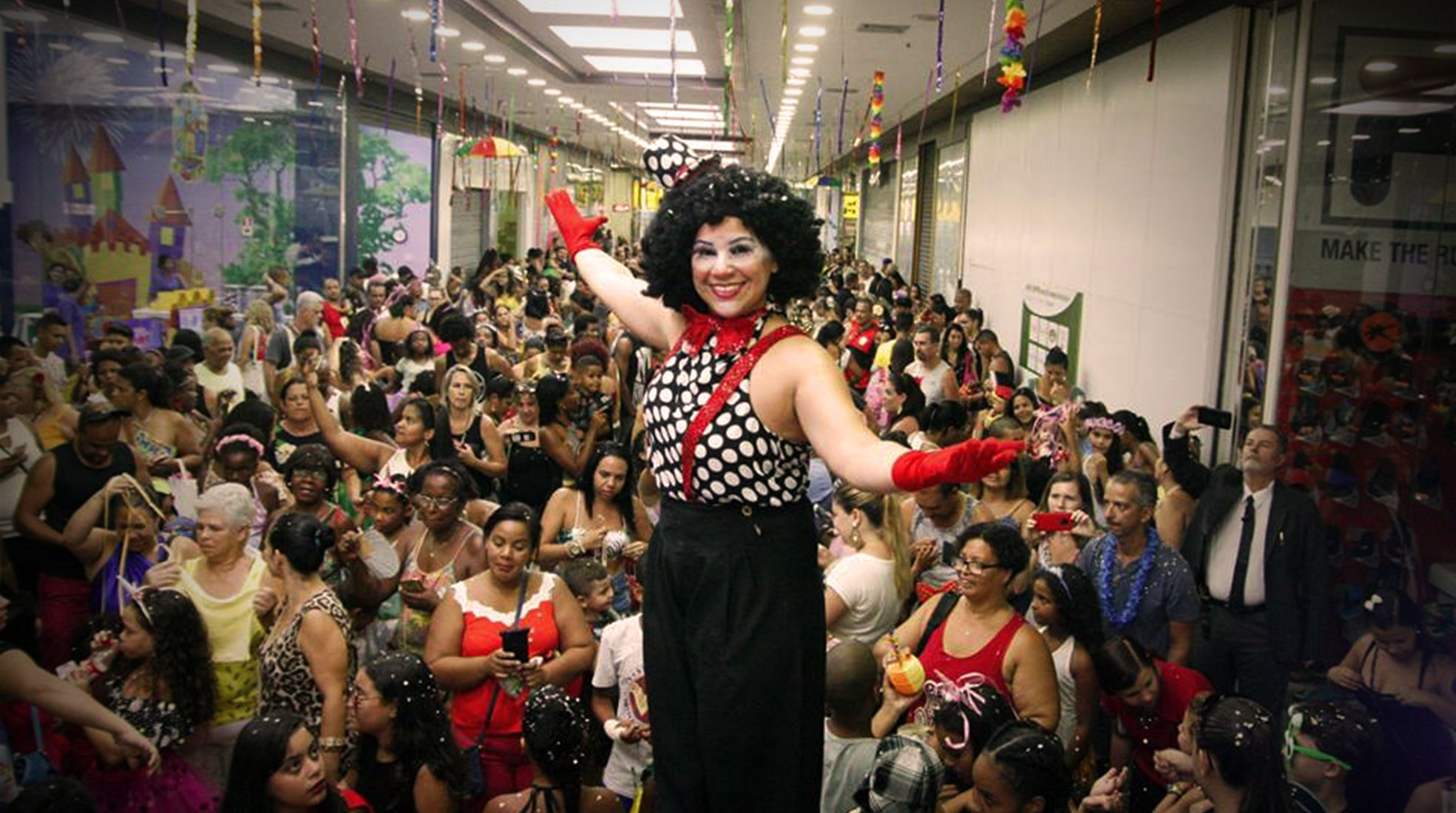 Bloquinho de Carnaval West Shopping - Agência DosReis Live Marketing