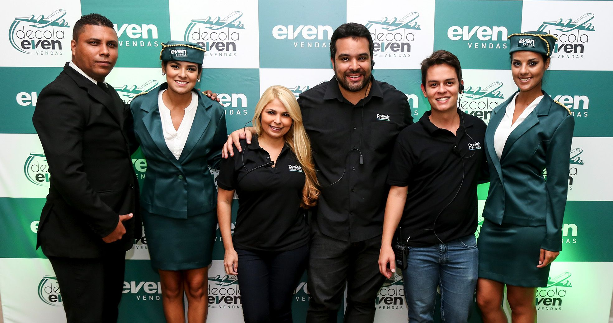 Evento Corporativo - Convenção Even Vendas - Agência DosReis Live Marketing