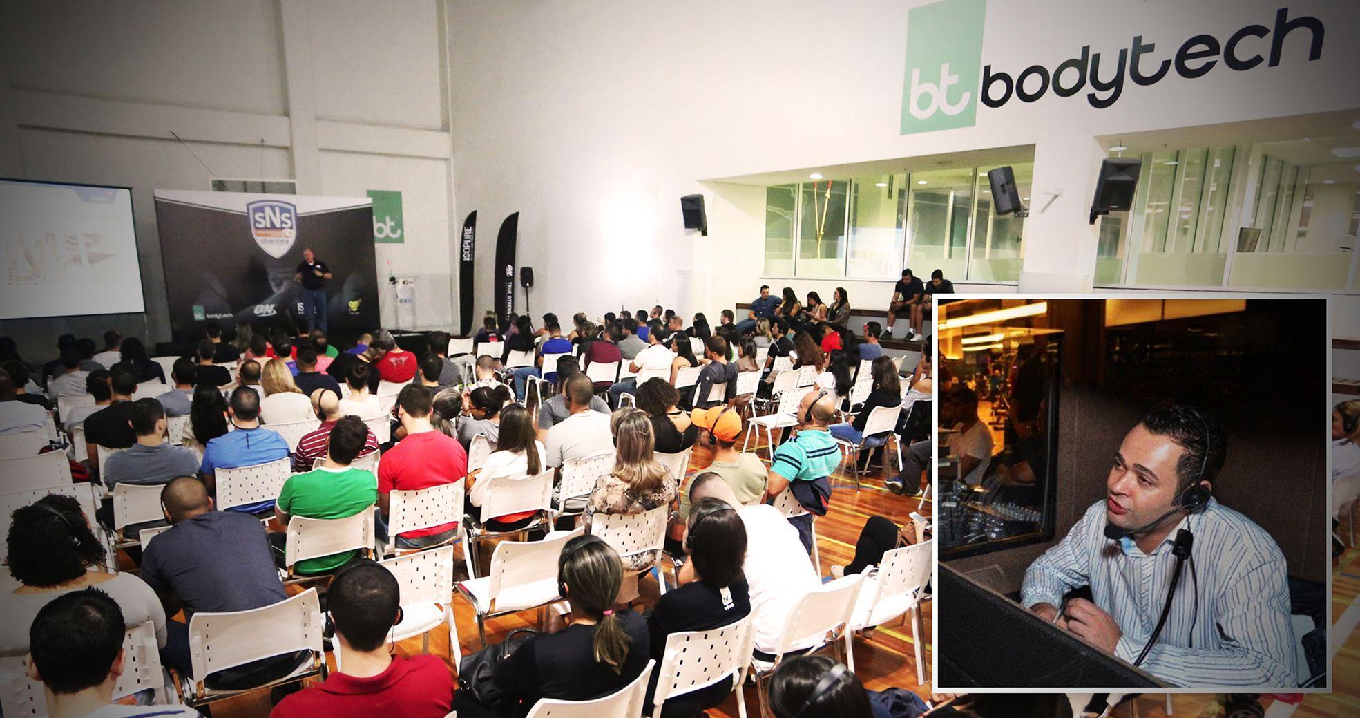 Evento Corporativo - Palestra Bodytech + Glanbia SNS7 - Agência DosReis Live Marketing