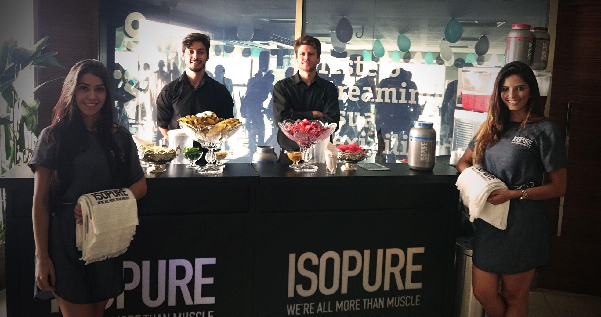 Ação Promocional de Degustação - Glanbia - Lançamento de produtos - Agência DosReis Live Marketing