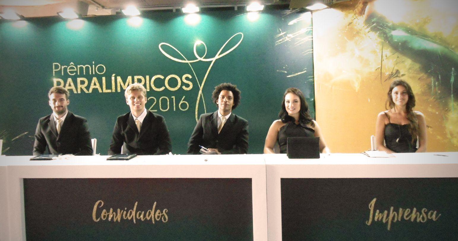 Evento - Premiação de atletas paralímpicos do CPB - Agência DosReis Live Marketing