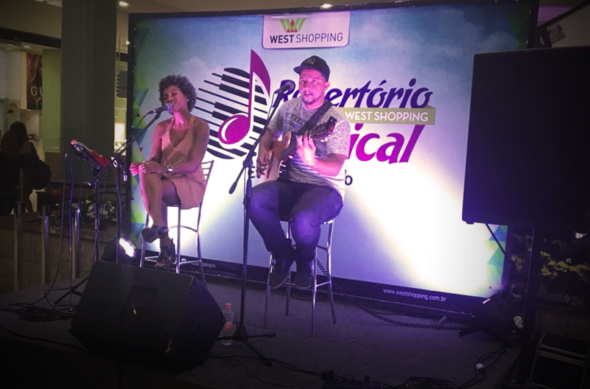 Show - West shopping da Evelyn Lima - Agência DosReis Live Marketing